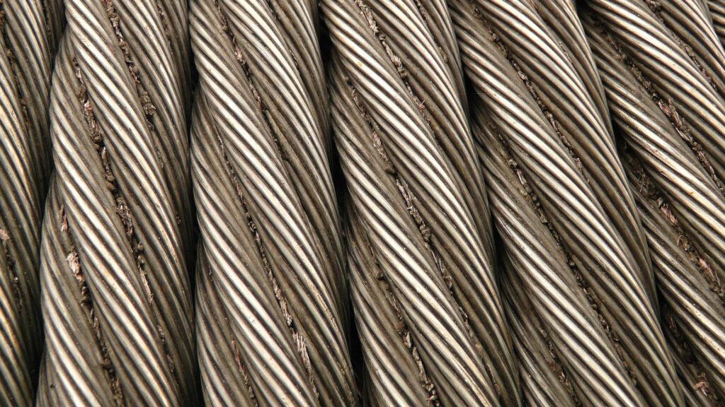Macchine produzione cavo metallico